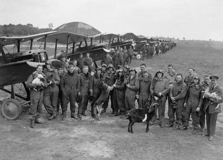 The Royal Flying Corps, including Mick Mannock